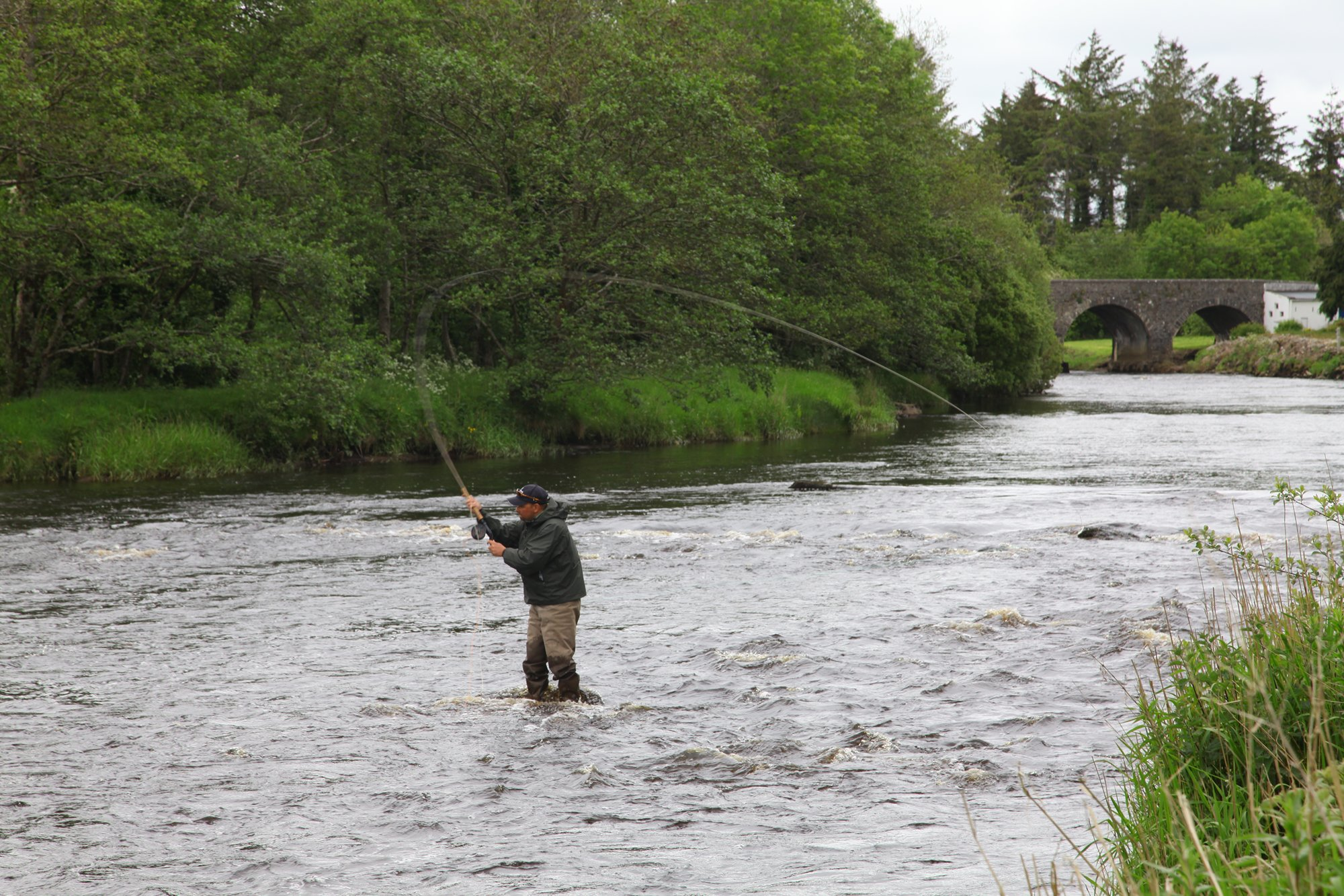 Casting at the Moy