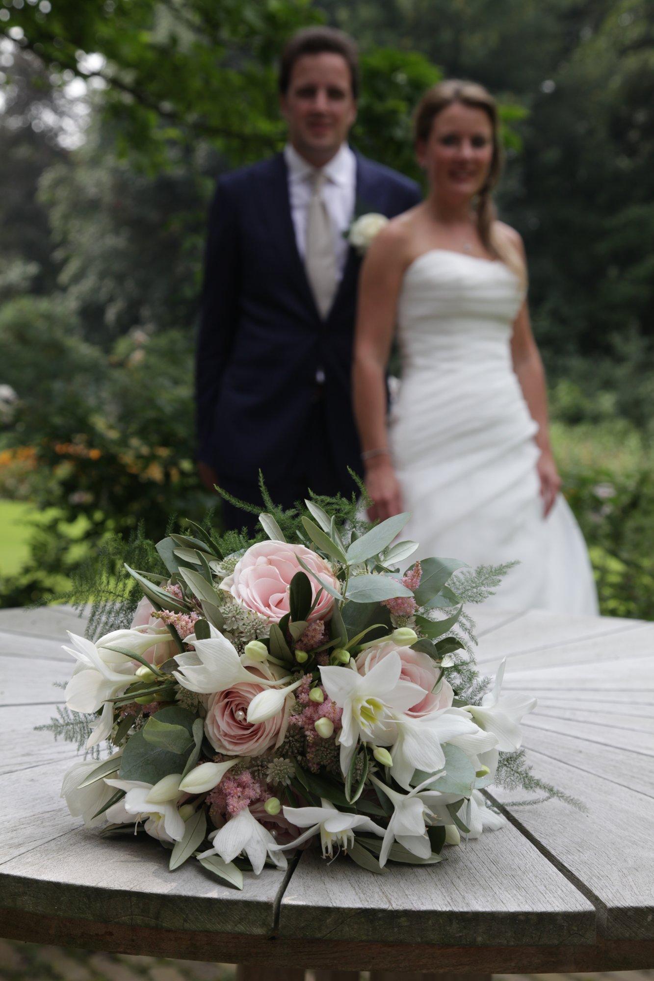Bloemen trouwreportage