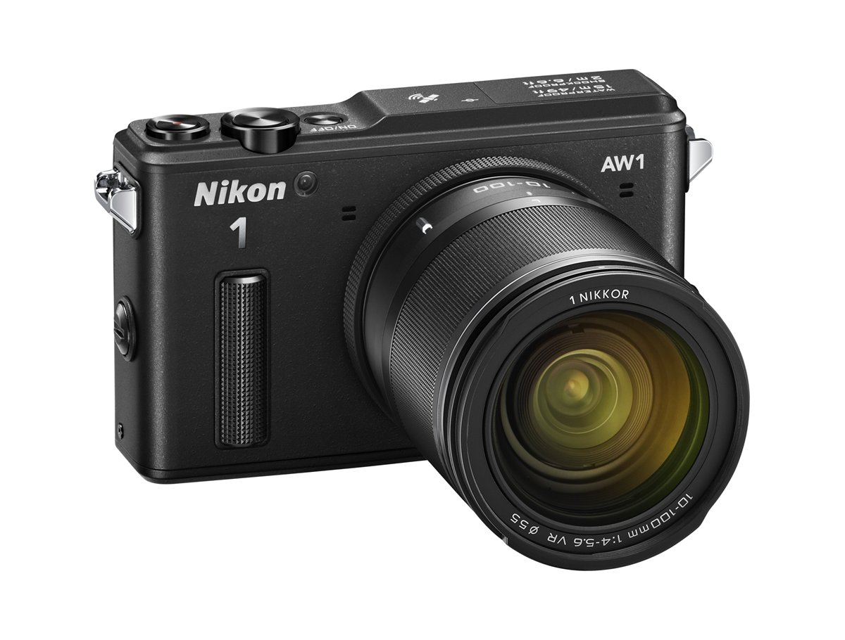 De Nikon AW1 is een compacte camera met verwisselbare lenzen.